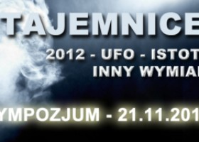 """Sympozjum """"Tajemnice świata"""" 21 listopada, Warszawa"""