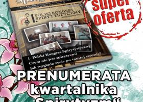 Prenumerata kwartalnika Spirytyzm na 2013 r.