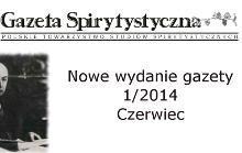 Gazeta spirytystyczna czerwiec/2014