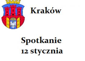Kraków – spotkanie sympatyków spirytyzmu ; 10 stycznia
