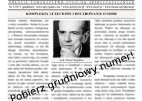 Nowy numer gazety spirytystycznej 12/2015
