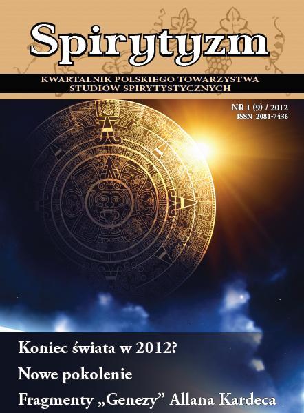 Kwartalnik spirytystyczny 01 2012